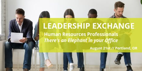 There's An Elephant In Your Office | Human Resources LEX tickets