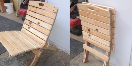 Intro to Carpentry: Collapsible Chair tickets