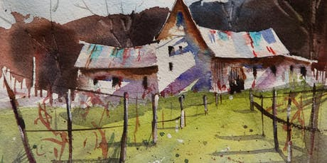 Discover Series: The Rural Landscape in Watercolor with Rex Beanland  tickets