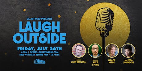 Laugh Outside: Live Comedy tickets