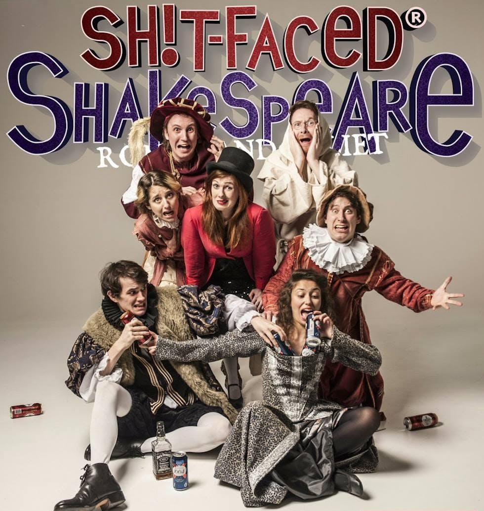 "Sh!t-faced Shakespeare presents: ""Romeo & Juliet"""