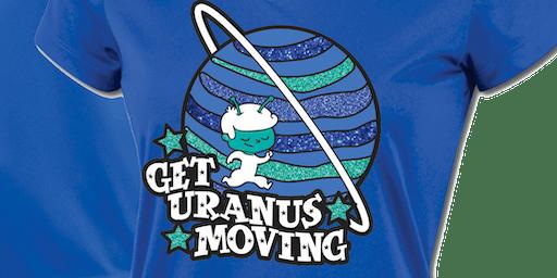 FREE SIGN UP: Get Uranus Moving Run/Walk Challenge 2019 -Columbia