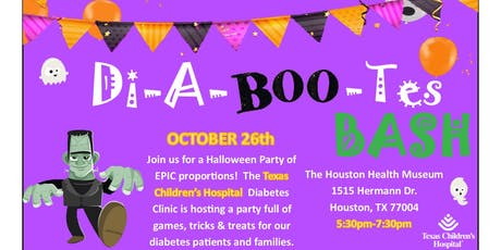 Texas Children's Hospitals DI-A-BOO-TES BASH tickets