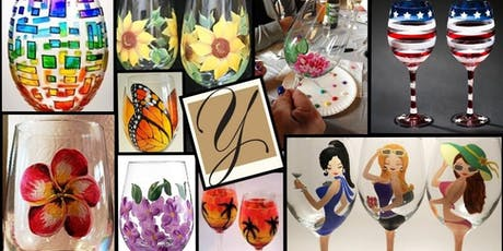 Wine Glass Painting at Youngberg Hill tickets