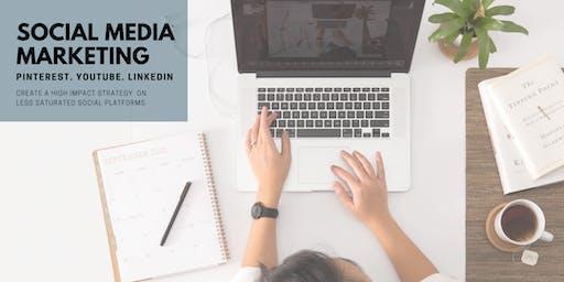 Social Media Marketing // Intro to Linkedin, Pinterest, & Youtube