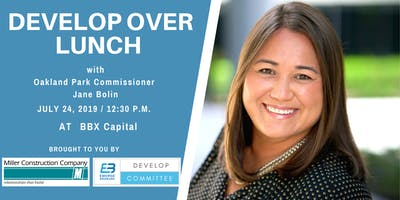 Develop Over Lunch with Commissioner Bolin