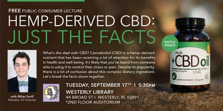 Hemp-Derived CBD: Just The Facts tickets
