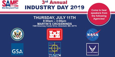 SAME Mid-Maryland 3rd Annual Industry Day tickets
