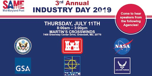 SAME Mid-Maryland 3rd Annual Industry Day