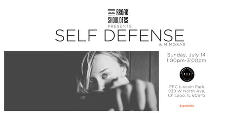 Self Defense and Mimosas tickets