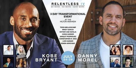 Relentless IV 2019 | The 7-Step Roadmap to Success | Kobe Bryant tickets