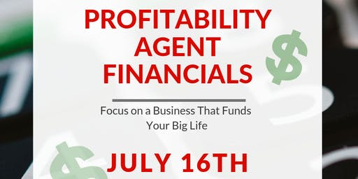 Profitability: Agent Financials