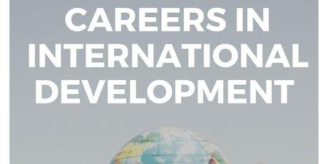 Careers in International Development tickets