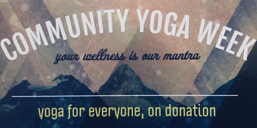 Community Yoga Week
