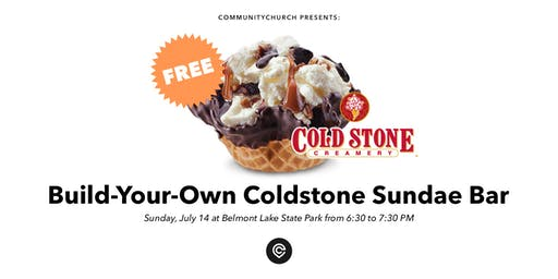 Coldstone Build-Your-Own Sundae Bar