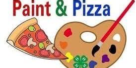 Family Saturday Pizza & Paint