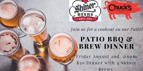 Patio BBQ & Brew Dinner tickets