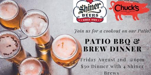 Patio BBQ & Brew Dinner