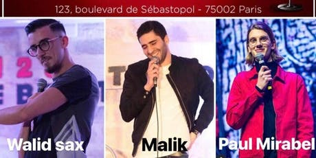 Le Red Comedy Best of (Malik/Walid Sax/Paul Mirabel) billets