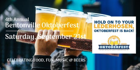 Oktoberfest in Bentonville - 2019 tickets
