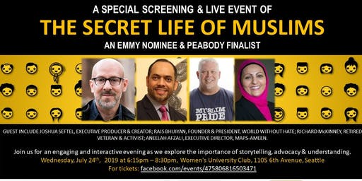 Secret Life of Muslims: Screening & Panel Discussion