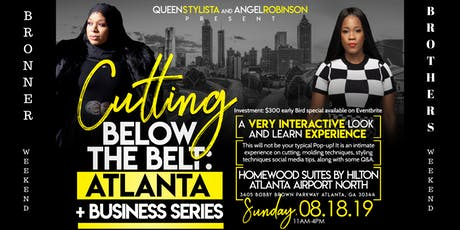 "CUTTING BELOW THE BELT "" THE BUSINESS SERIES"" tickets"