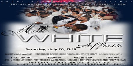 """the """"All-White"""" AFTER PARTY - July 2019 Event tickets"""