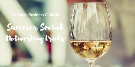 Ethiopian Business Club UK & Friends Summer Social  tickets