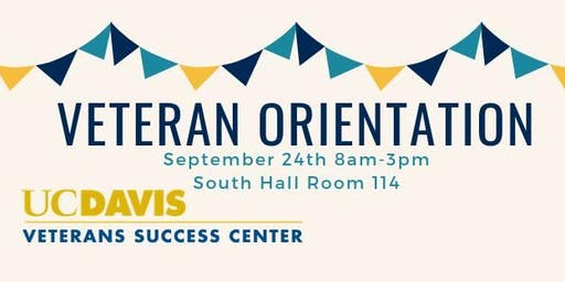 Veteran Orientation Fall 2019