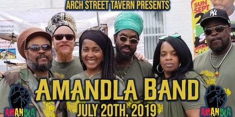 Amandla Band tickets