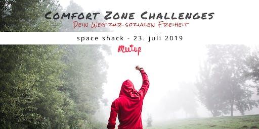 Comfort Zone Challenges // Thema: Mit Menschen in Interaktion kommen