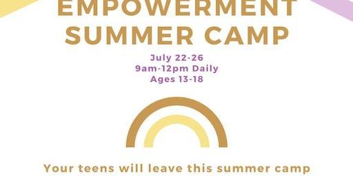 Teen Empowerment Summer Camp