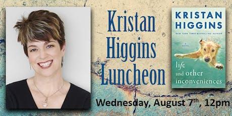 Kristan Higgins Luncheon tickets