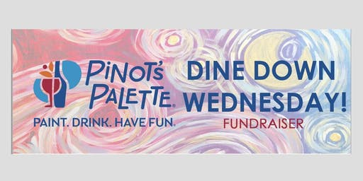 Pinot's Palette Outdoor Paint Night at Dine Down Wednesday!