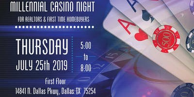 Millennial Casino Night for Realtors & First Time Home Buyers