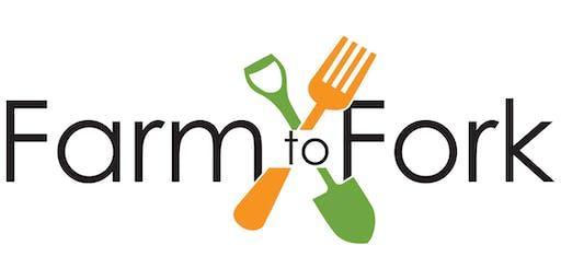 1st Annual Farm to Fork Fundraiser