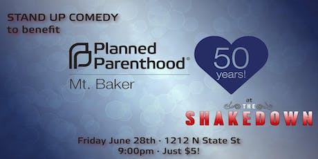 Planned Parenthood Comedy Benefit tickets