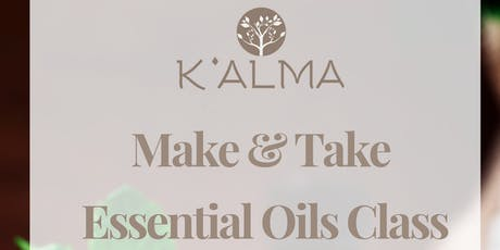 K'Alma Spas Essential Oils Make + Take Class at The Gates Hotel South Beach boletos