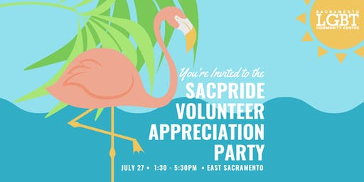 SacPride Volunteer Appreciation Party