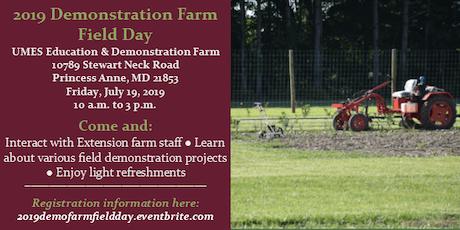2019 Demonstration Farm Field Day tickets