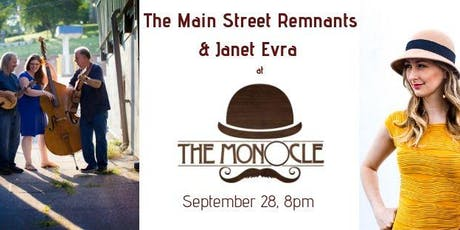 Janet Evra and The Main Street Remnants tickets