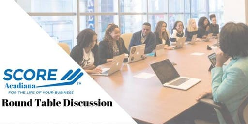 Round Table Discussion: Simple steps to starting your business