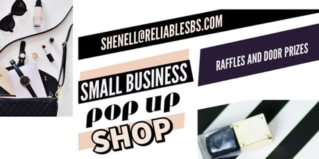 Small Business POP UP SHOP!! Raffles and giveaways!! tickets