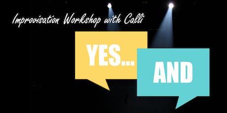 Improv Workshop with Calli  tickets