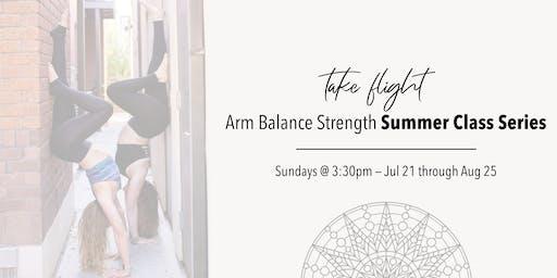 Take Flight: Arm Balance Strength Summer Class Series