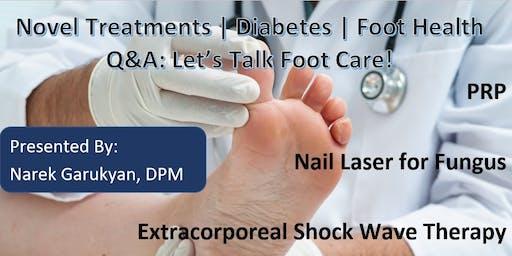 Let's Talk Foot Care!: Q&A with Dr. Narek Garukyan