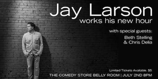 Jay Larson Runs His Hour