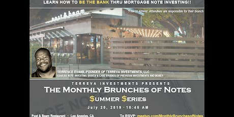 Monthly Brunches of Notes $ummer $eries - July tickets