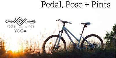 Pedal, Pose + Pints