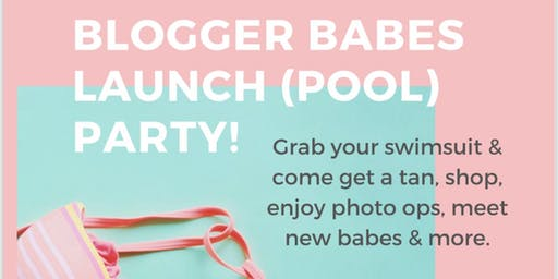 Palm Springs Blogger Babes Launch Party